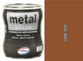 Vitex Heavy Metal Silikon - alkyd RAL 8001 750ml